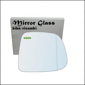 Vetro Specchio Retrovisore Asferico Lato Dx-Passeggero Per Chevrolet Orlando (J309) dal 2010>