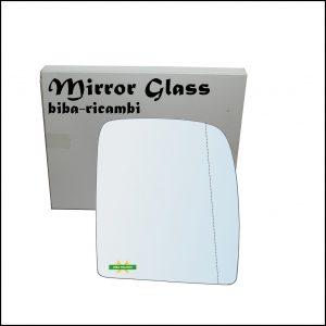 Vetro Specchio Retrovisore Asferico Lato Dx-Passeggero Per Citroen Jumpy II (VF7) dal 2007>