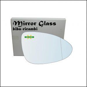Vetro Specchio Retrovisore Asferico Lato Dx-Passeggero Per Chevrolet Aveo (T300) dal 2011>
