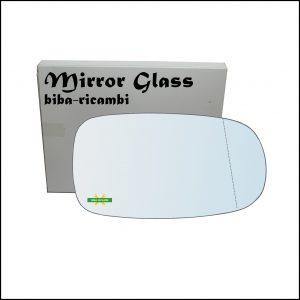 Vetro Specchio Retrovisore Asferico Lato Dx-Passeggero Per Daihatsu Cuore VI (L251) dal 2003>