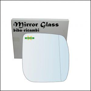 Vetro Specchio Retrovisore Asferico Lato Dx-Passeggero Per Subaru Forester III (SH) dal 2008-2012