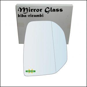 Vetro Specchietto Retrovisore Asferico Lato Dx-Passeggero Per Citroen Berlingo II solo dal 2008-2012