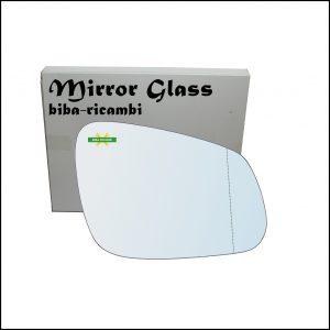 Vetro Specchio Retrovisore Asferico Lato Dx-Passeggero Per Chevrolet Spark (M400) dal 2015>