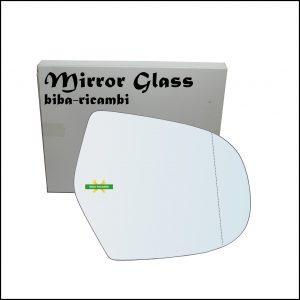 Vetro Specchio Retrovisore Asferico Lato Dx-Passeggero Per Great Wall Hover dal 2005-2011