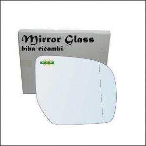 Vetro Specchio Retrovisore Asferico Lato Dx-Passeggero Per Subaru Impreza (GR, GH, G3) dal 2008-2011