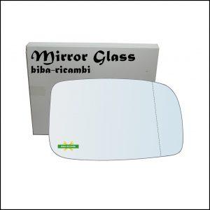Vetro Specchio Retrovisore Asferico Lato Dx-Passeggero Per Subaru Justy IV dal 2007-2010