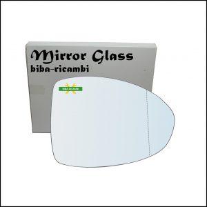 Vetro Specchio Retrovisore Asferico Lato Dx-Passeggero Per Fiat 500 III (PT) dal 2021>