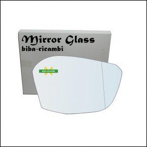 Vetro Specchio Retrovisore Asferico Lato Dx-Passeggero Per Citroen C4 III (BA) dal 2020>