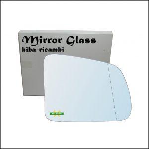 Vetro Specchio Retrovisore Cromato Asferico Lato Dx-Passeggero Per Suzuki Vitara I (TA) solo dal 1988-1993