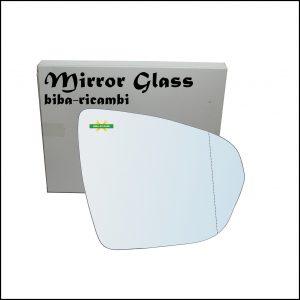 Vetro Specchio Retrovisore Asferico Lato Dx-Passeggero Per Citroen C5 Aircross dal 2018>