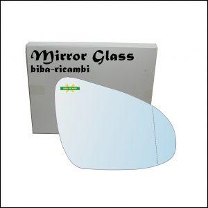 Vetro Specchio Retrovisore Asferico Lato Dx-Passeggero Per Citroen C1 II (PA) dal 2014>