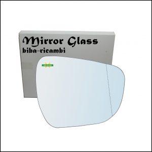 Vetro Specchio Retrovisore Asferico Lato Dx-Passeggero Per Suzuki Celerio (LF) dal 2014>