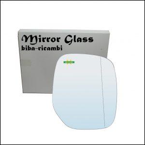 Vetro Specchio Retrovisore Asferico Lato Dx-Passeggero Per Citroen Berlingo I (M) dal 1996-2011
