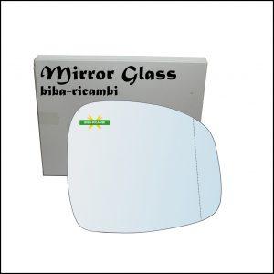 Vetro Specchio Retrovisore Asferico Lato Dx-Passeggero Per Suzuki SX4 (GY, RW) solo dal 2012-2014