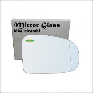 Vetro Specchio Retrovisore Asferico Lato Dx-Passeggero Per Subaru Trezia dal 2010>