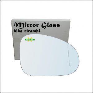 Vetro Specchio Retrovisore Asferico Lato Dx-Passeggero Per Chevrolet Matiz (M200) dal 2005>