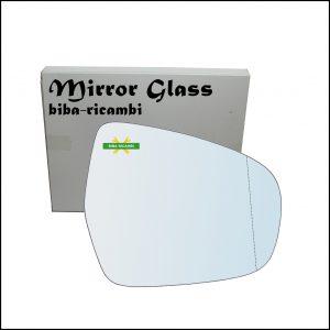 Vetro Specchio Retrovisore Asferico Lato Dx-Passeggero Per Suzuki SX4 S-Cross (JY) dal 2013>