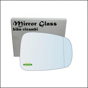Vetro Specchio Retrovisore Asferico Lato Dx-Passeggero Per Lancia Phedra Restyling solo dal 2008>