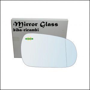Vetro Specchio Retrovisore Cromato Asferico Lato Dx-Passeggero Per Honda Accord V dal 1990-1997