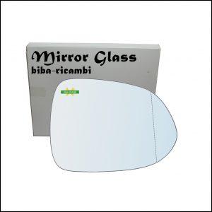 Vetro Specchio Retrovisore Asferico Lato Dx-Passeggero Per Honda Jazz II (GD) solo dal 2001-2004