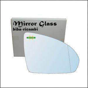 Vetro Specchio Retrovisore Asferico Lato Dx-Passeggero Per Smart ForTwo II (451) dal 2007>