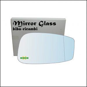 Vetro Specchio Retrovisore Cromato Asferico Lato Dx-Passeggero Per Fiat Stilo (192) dal 2001-2009