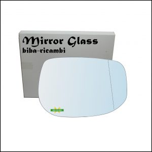 Vetro Specchio Retrovisore Asferico Lato Dx-Passeggero Per Honda Insight II (ZE) dal 2009>