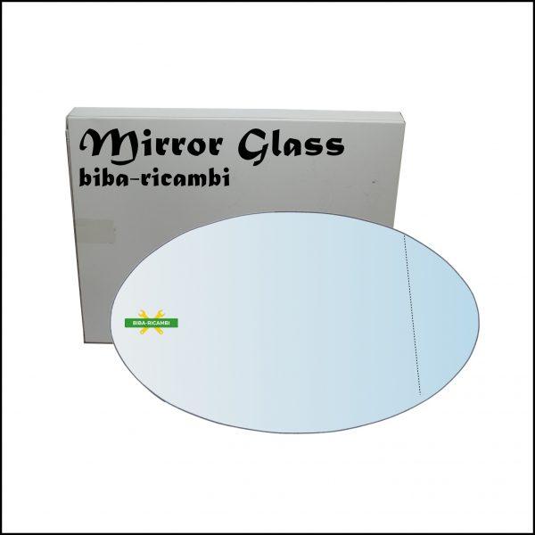 Vetro Specchio Retrovisore Asferico Lato Dx-Passeggero Per Mini Cooper (R50,R52,R53) dal 2001>2008