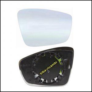 Piastra Specchio Retrovisore Lato Dx-Passeggero Per Seat Mii (KF1) dal 2011>