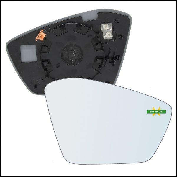 Piastra Retrovisore Termica Lato Dx-Passeggero Per Skoda Superb III (3V) dal 2015>