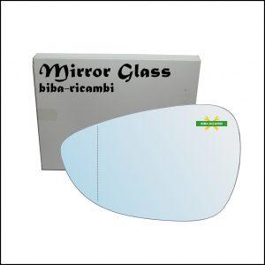 Vetro Specchio Retrovisore Asferico Lato Sx-Guidatore Per Ford B-Max (JK) dal 2012>
