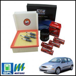 Kit Tagliando Filtri | Candele Per Ford Focus I 1.400 LPG 55kw/75cv dal 1998>