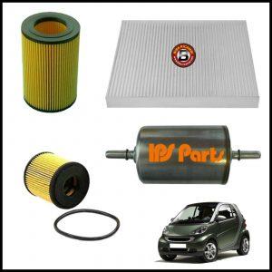 Kit Tagliando Filtri Per Smart ForTwo (450) 0.700 45kw/61cv dal 2004>