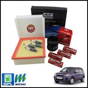 Kit Tagliando Filtri | Candele Per Ford Fusion 1.600 GPL 74kw/100cv dal 2002>