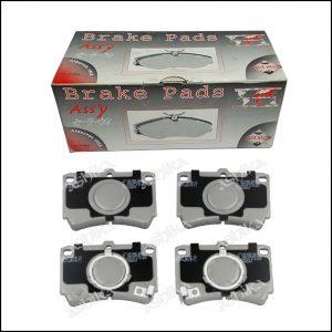 Pastiglie Freno Anteriori Mazda 323 III | Marca: Ashika 50-03-326