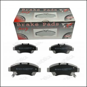 Pastiglie Freno Anteriori Honda Civic V | Civic VI | Civic VII | CRX III | Marca: Ashika 50-04-435