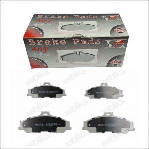 Pastiglie Freno Anteriori Mazda | Ford | Marca: Ashika 50-03-373