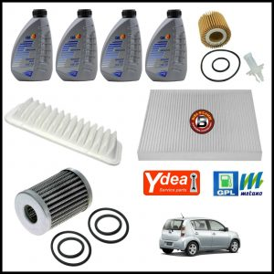 Kit Tagliando Olio | Filtri Per Subaru Justy 1.000 GPL Bi-Fuel 51kw/69cv dal 2007>