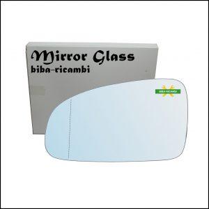 Vetro Specchio Retrovisore Asferico Lato Sx-Guidatore Per Chevrolet Aveo (T250, T255) solo dal 2005-2009