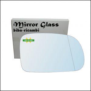 Vetro Specchio Retrovisore Asferico Lato Dx-Passeggero Per Ssangyong Actyon I dal 2005>