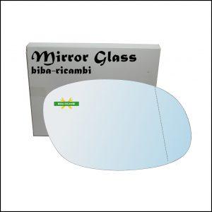 Vetro Specchio Retrovisore Asferico Lato Dx-Passeggero Per Ssangyong Korando (KJ) dal 1996>