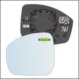 Specchio Piastra Retrovisore Blind Spot Lato Sx-Guidatore Per Jaguar E-PACE (X540) dal 2017>