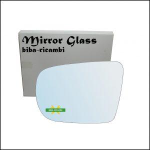 Vetro Specchio Retrovisore Cromato Lato Sx-Guidatore Per Subaru Legacy IV (BL,BP) dal 2003-2009