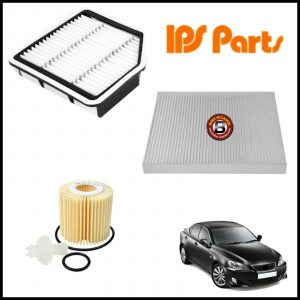 Kit Tagliando Filtri Per Lexus IS 2.500 153kw/208cv dal 2005>
