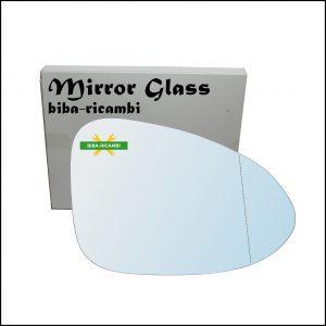 Vetro Specchio Retrovisore Asferico Lato Dx-Passeggero Per Porsche Macan (95B) dal 2013>
