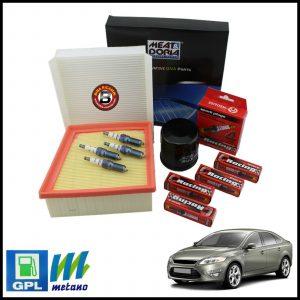 Kit Tagliando Filtri | Candele Per Ford Mondeo IV 1.600 GPL 81kw/110cv dal 2007-2015