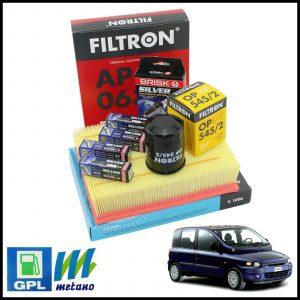Kit Tagliando Filtri | Candele Per Fiat Multipla 1.600 BiPower 76kw/103cv dal 1999>