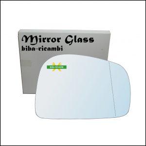 Vetro Specchio Retrovisore Asferico Lato Dx-Passeggero Per Ssangyong Musso (FJ) dal 1993-2005