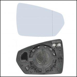 Piastra Specchio Retrovisore Asferico Termico Lato Dx-Passeggero Per Audi A1 II Sportback (GBA) dal 2018>