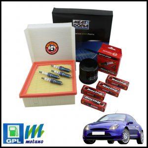 Kit Tagliando Filtri | Candele Per Ford Puma 1.400 GPL 66kw/90cv dal 1997>